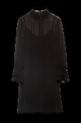 Kjole Flocked Dot Cri Dress