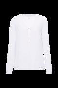 Bluse med ærme der kan foldes op