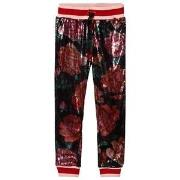 Guess Multi Colour Sequin Floral Trousers 7 years