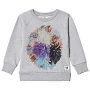 Molo Marina Sweatshirt Light Grey Melange 92 cm (1,5-2 år)