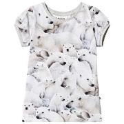 Molo Rimona T-Shirt Polar Bear Jersey 98 cm (2-3 år)