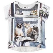 Molo Ragnhilde T-Shirt City Cats 92 cm (1,5-2 år)