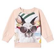 Molo Elsa T-Shirt Vacation Bunny 80 cm (9-12 mdr)