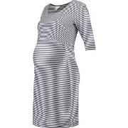 Boob Eva Striped Dress Tofu/Soft Ink 34