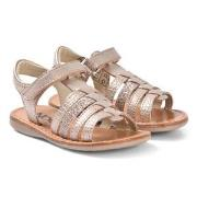 Noël Sydni Leather Sandals Rose Multi 25 (UK 8)