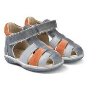 Noël Mini Tin Sandals Navy/Blue/Orange 20 (UK 4)