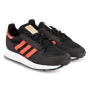 adidas Originals Black and Orange Forest Grove Trainers 36 (UK 3.5)