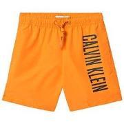 Calvin Klein Orange Branded Swim Shorts 8-10 years