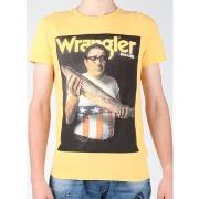 T-shirts m. korte ærmer Wrangler  T-shirt  S/S Graphic T W7931EFNG