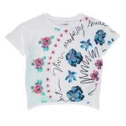 T-shirts m. korte ærmer Desigual  21SGTK02-1000